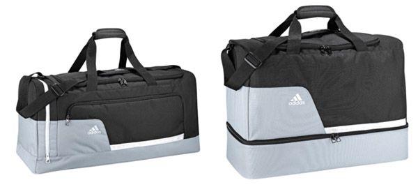 adidas Tiro 13 Teambag Sporttasche Large oder MB Medium mit Bodenfach für je 17,18€