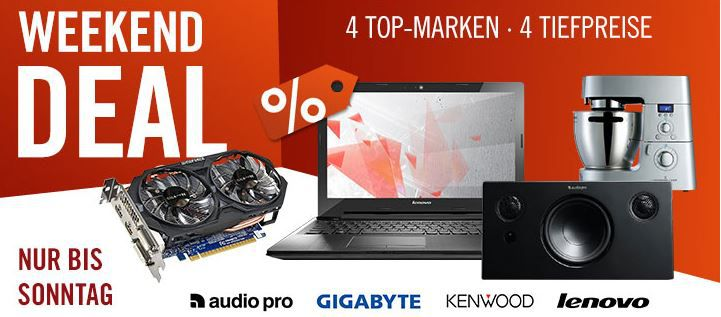 cyberweekend1 Audio Pro Addon T10 Bluetooth Stereo 2.1 Lautsprecher für 199€ beim Cyberport Weekend Deal