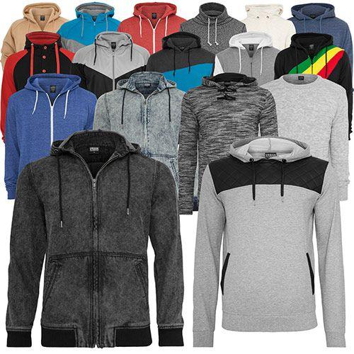 hood Urban Classic Herren Hoodies   verschiedene Farben für je 19,90€