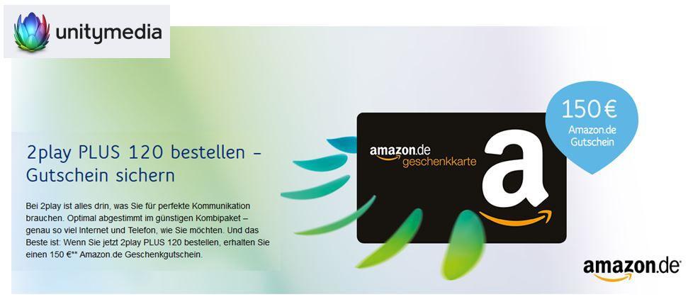 Unitymedia 2play Plus 120   Internet  und Telefon für effektiv 21,67€ monatl.