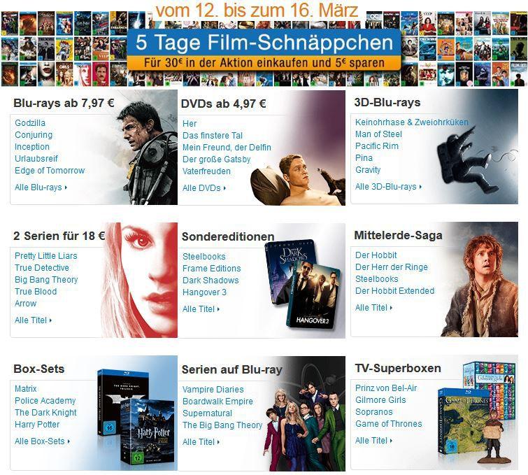 5 Tage Film Schnappen Game of Thrones Staffel 1 3 [Blu ray] für 54,97€ bei den 5 Tage Film Schnäppchen   Update