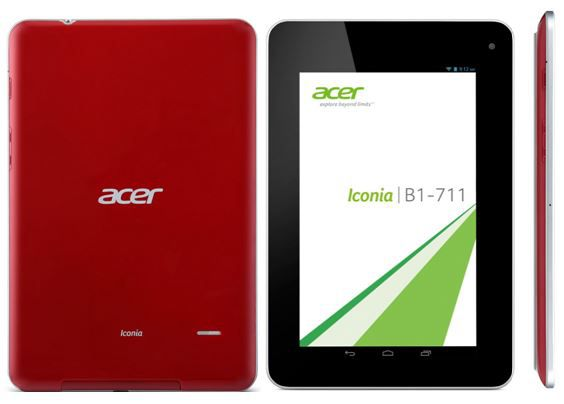 Acer Iconia B1 711   7Zoll Android Tablet mit WiFi + UMTS für 89€