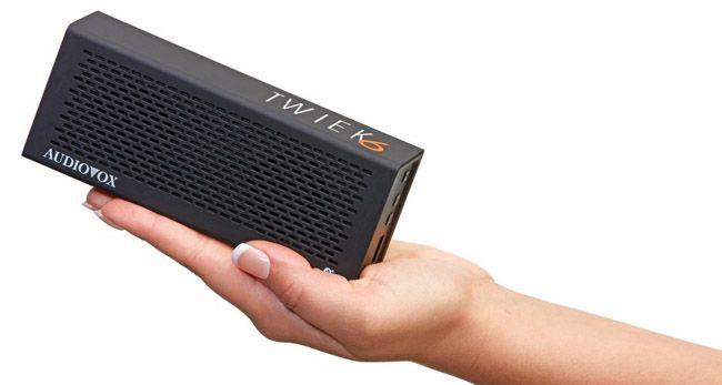 Audiovox Twiek 6 Audiovox Twiek 6 Bluetooth Stereo Lautsprecher ab 19,99€