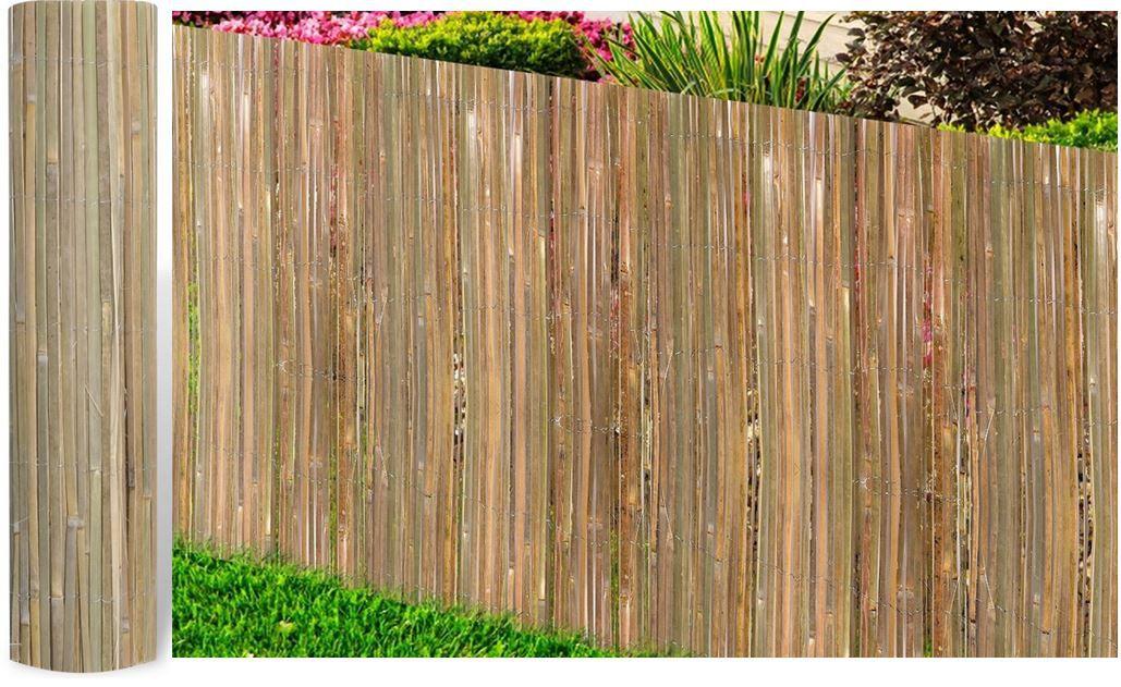 Bambusmatte Sichtschutz 200x400cm für 17,99€