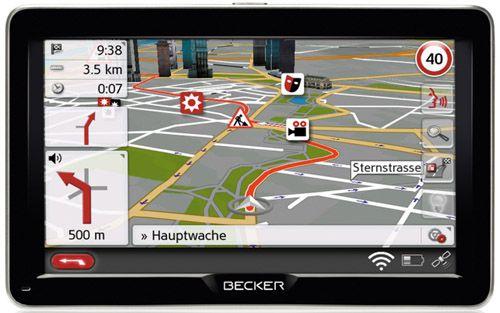 Becker Professional 70 LMU Navigationssystem mit WLAN und Sprachsteuerung für 222€