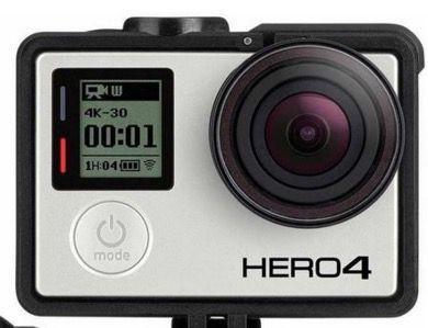 GoPro HERO4 Black Edition   4K Actioncam (refurb.) für 185,90€ (statt neu 329€)