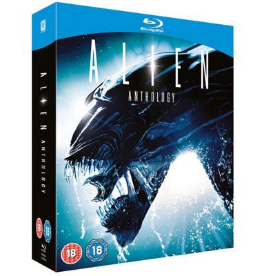 Alien Anthology Blu ray Box für 11,79€ (statt 19€)