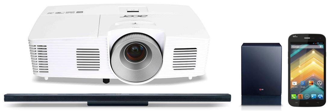 Acer H6520BD 3D Full HD DLP Projektor für 579€   bei den 32 Amazon Blitzangeboten ab 18Uhr