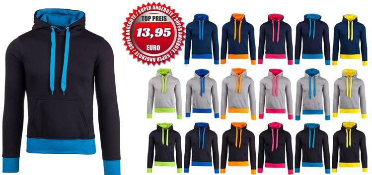 Bolf2 Stegol AK58   Herren Hoodies in 18 Farben für je 13,95€
