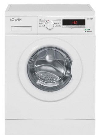 Bomann WA 5824 Bomann WA 5824 Waschmaschine für 299€ mit EEK A+++, 1.400 U/min, 8kg