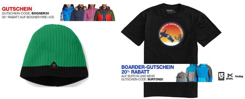 BOGNER FIRE + ICE Herren Mütze Helm statt 32€ ab 13,99€ und mehr Bogner Fire + Ice & Burton Angebote   Update