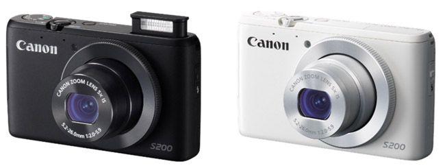 Canon PowerShot S200 Canon PowerShot S200 Digitalkamera   WLAN, Full HD, 10 MP, 5x opt. Zoom, 3 Zoll Display für 179€ Update