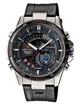 Casio Edifice Herrenuhr als Red Bull Racing Edition mit Resin Armband für 219€