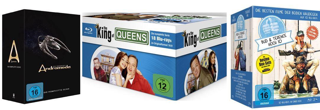 DVDs The King of Queens HD Superbox für 79,97€ bei der Film und Serien Boxen mit bis 40% Rabatt nur heute!