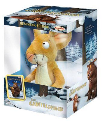 Das Grüffelokind (Geschenk Edition) mit Plüschtier und DVD ab 8,45€
