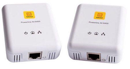 Devolo Powerline AV 6400 Devolo Powerline AV 6400 dLAN Starterset für 24,99€