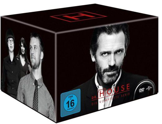 Dr House e1470476905172 Dr. House   Die komplette Serie auf 46 DVDs für 39€ (statt 45€)