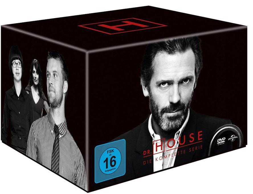 Dr House Dr. House   Die komplette Serie, Season 1 8 (46DVDs) für 49,97€