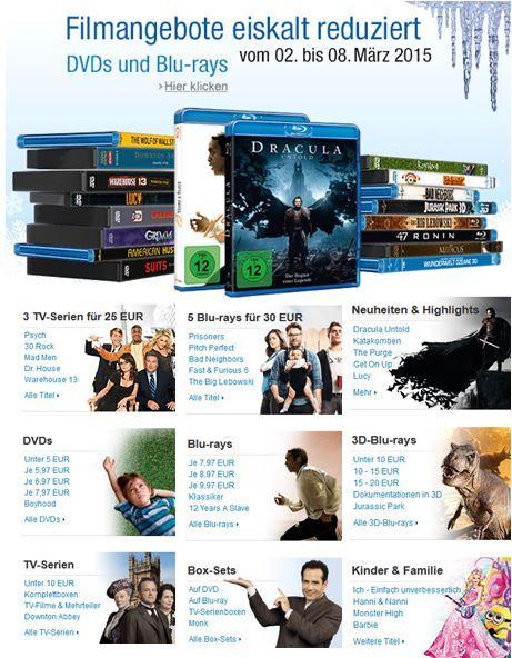 Filme & TV Serien eiskalt reduziert   z.B. Dr. House, Battlestar Galactica, Fast & Furious 1 6 oder Monk zum Bestpreis   Update