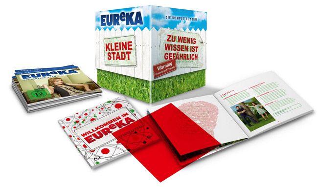 EUReKA Gesamtbox EUReKA   Die geheime Stadt als Gesamtbox (22 DVDs) für 29,97€