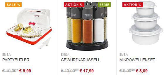 Emsa Sale XXXL (Online) Einrichtungshaus mit bis 1.000€ Rabatt (MBW 3.000€) + 20% auf ausgewählte EMSA Artikel