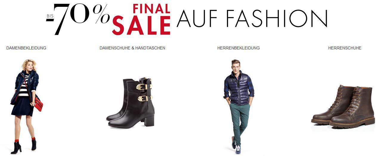 Final Sale Amazon Final Sale mit 70% Rabatt auf Taschen, Sneaker, Stiefel, Pumps und mehr