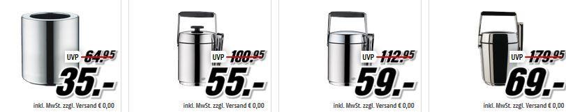 Flaschenkühler Sale Alfi Isolierkannen und Becher ab 8€ in der MediaMarkt ALFI Tiefpreisspätschicht