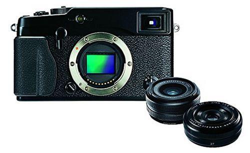 Fujifilm X Pro1 Fujifilm X Pro1 Systemkamera + XF 18mm F2 + XF 27mm F2.8 für 893€