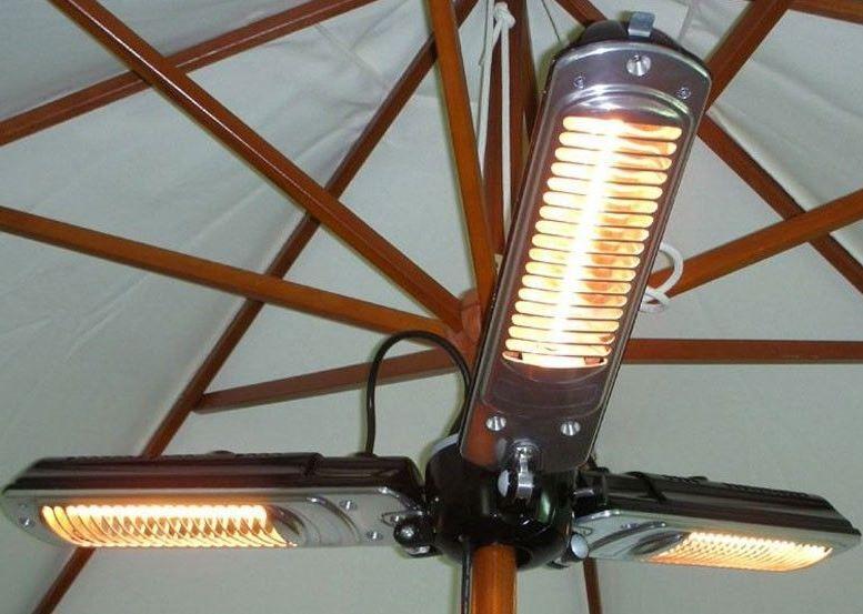 Güde Güde 2000 S   73050    2000 Watt Quarz Terrassenstrahler für 39,99€