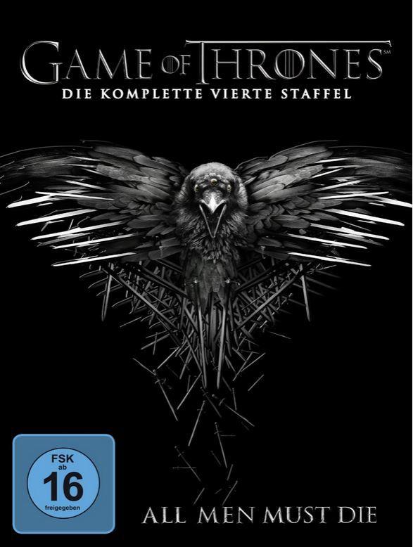 Game of Thrones   die vierte Staffel auf 5 DVDs für nur 15€