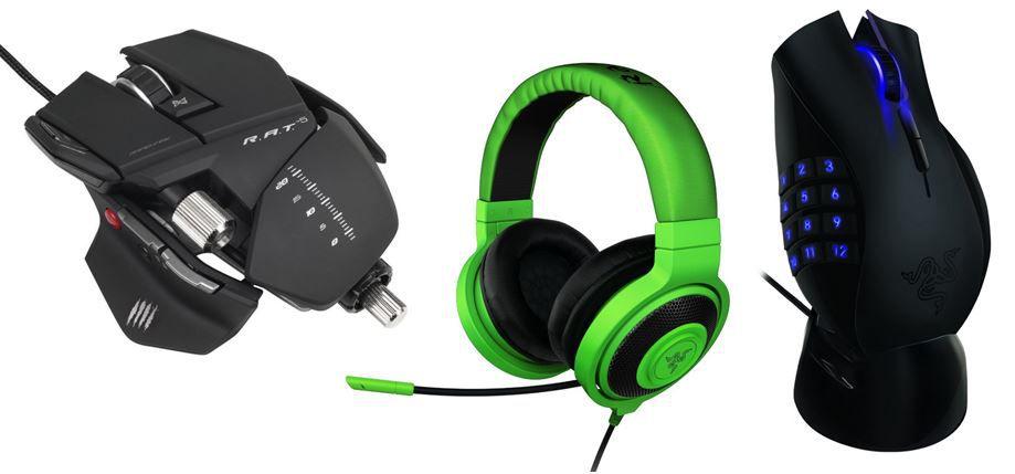 Gaming Rabatt Mad Catz R.A.T.5 Gaming Maus für 46,40€ bei der Amazon 20% auf PC Gaming Zubehör Aktion