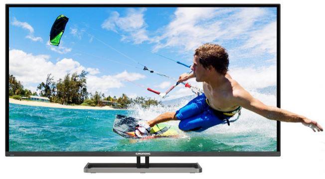 Grundig 42 VLE 9480 BL   42 Zoll 3D Smart TV mit triple Tuner, PVR, 6 x 3D Brillen für 389,99€ Update