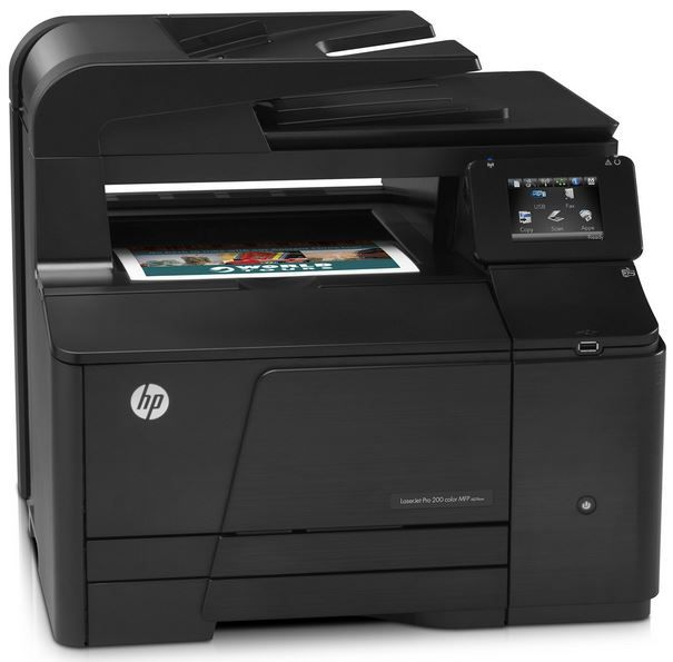 HP LaserJet Pro 200 M276nw HP LaserJet Pro 200 M276nw   Multifunktions Farblaser e All in One für 219€
