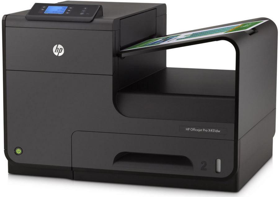 HP OfficeJet Pro X551dw HP Officejet Pro X451dw   ePrint Tintenstrahldrucker für 95€ Schnell sein!
