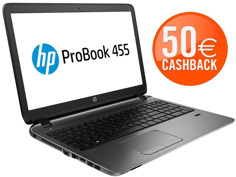 HP Probook 455 G2 G6W43EA   15 Zoll Notebook mattes Display Windows 7 Pro/ 8.1ab 283€ dank Cashback   Update