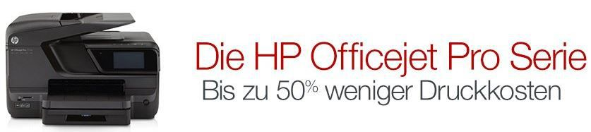 HP Officejet Pro 276dw Multifunktionsgerät für 214€ bei der Amazon HP Officejet Aktion