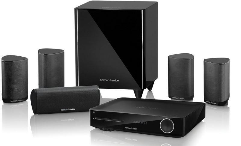 Harman Kardon BDS 775   5.1 Homecinema System mit 3D Blu ray Player für 599€