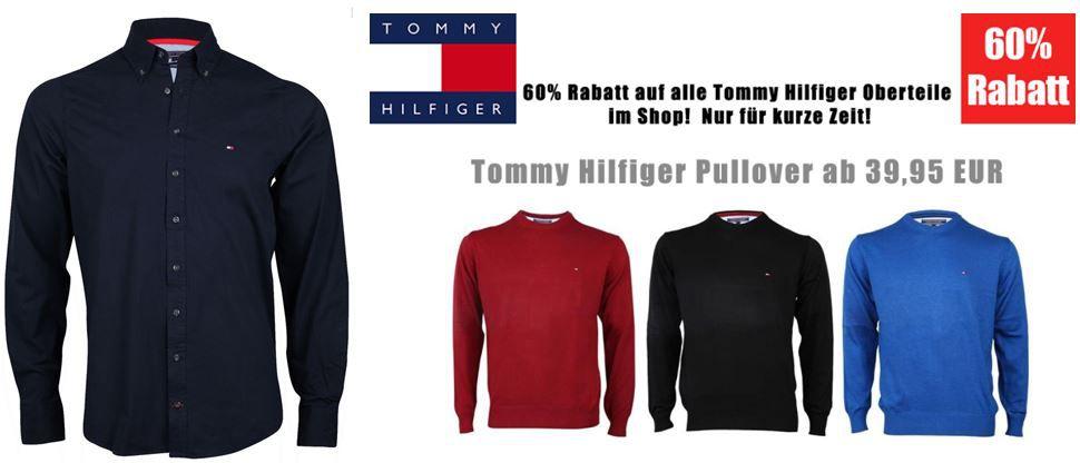 Gant, J & J & Tommy Hilfiger Sale mit bis zu 60% Rabatt +