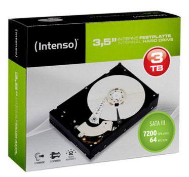 Intenso 3TB Intenso 3,5 Zoll 3TB Festplatte 7.200 U/min für 84,90€