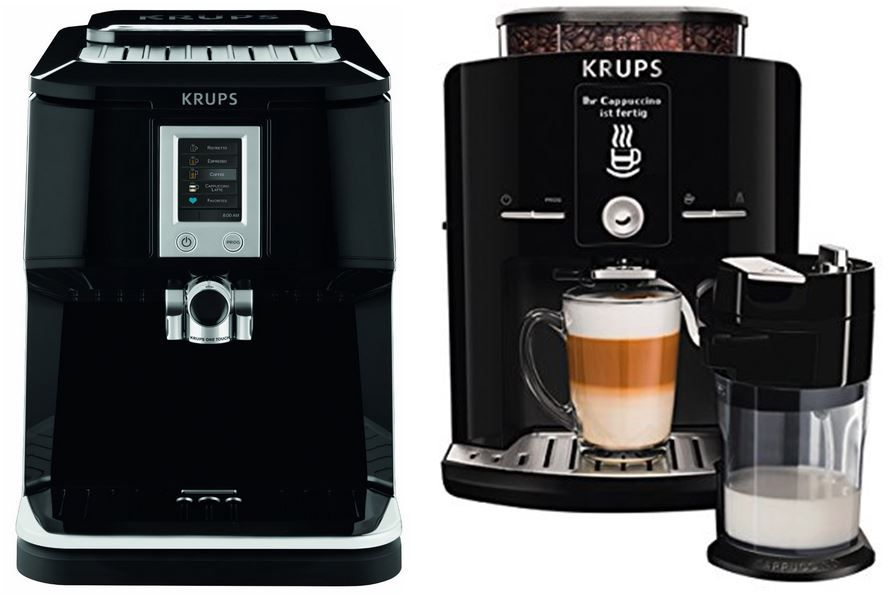 Krups EA850B One Touch Cappuccino Vollautomat für 479€ dank Krups 100€ Amazon Sofortrabatt Aktion   Update!