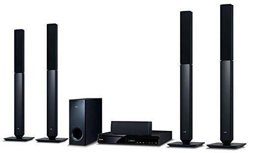 LG BH6540T   5.1 Heimkinosystem mit 3D Blu ray Player, Internetradio, Spotify für 169€