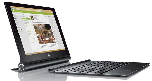 Lenovo Yoga Tablet 2 10 Lenovo Yoga Tablet 2 10 (1,86GHz, 2GB Ram, 32GB, LTE, Win 8.1) für 379€ statt 428€
