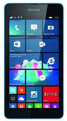 Microsoft Lumia 535 Dual Sim für 104,84€   Blau, 5 Zoll, 1,2 GHz, 1GB Ram, 8GB Speicher