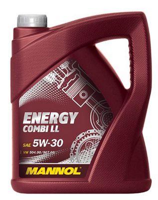 Mannol Energy Combi LL 5W 30 4 Liter Motoröl für 19,99€ (statt 21€)