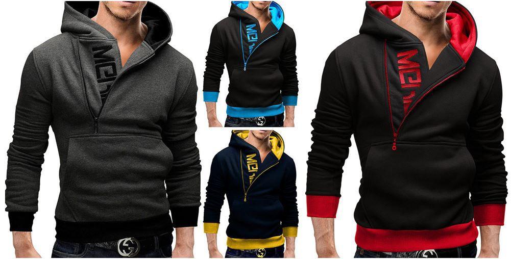 MERISH 60   neue Herren Hoodie Modelle in 5 Farben für je 19,90€