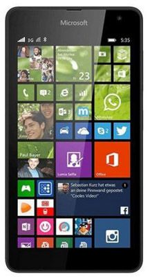 Microsoft Lumia 535 Microsoft Lumia 535 für 85€   Win 8.1, 1GB Ram, 1,2 GHz, 8GB, 5 Zoll, kein Simlock