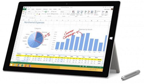 Microsoft Surface Pro 3 Microsoft Surface Pro 3 Tablet   12 Zoll, i7, 1,9GHz, 8GB Ram, 256GB SSD, Win10 für 954,04€