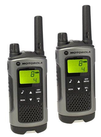 Motorola TLKR T80 Motorola TLKR T80 PMR Funkgeräte (2 Stück, Reichweite bis zu 10 km) für 59,90€
