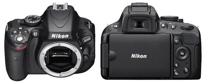 Nikon D5100 SLR Kamera ohne Objektiv für 299€