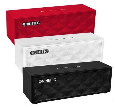 Ninetec Powerblaster Plus Ninetec Powerblaster Plus 2in1 für 29,99€   Bluetooth Lautsprecher + Powerbank